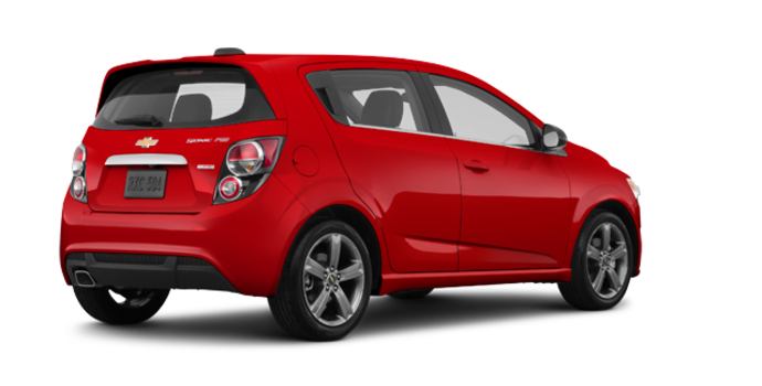 2016 Chevrolet Sonic Hatchback RS | Photo 5 | Red Hot