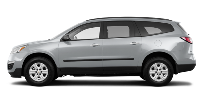 2016 Chevrolet Traverse LS | Photo 4 | Silver Ice Metallic