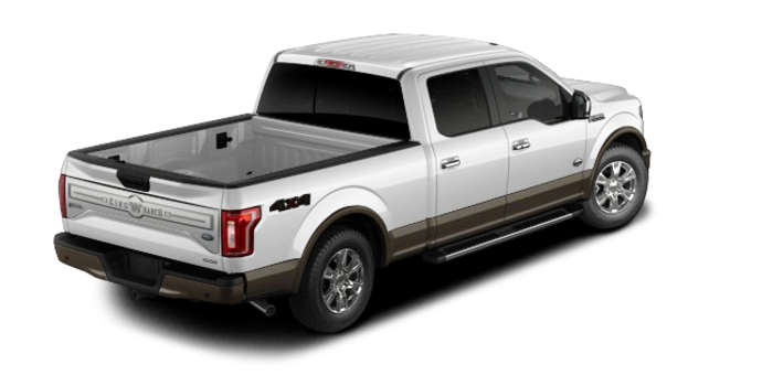 2016 Ford F-150 KING RANCH | Photo 5 | Oxford White/Caribou