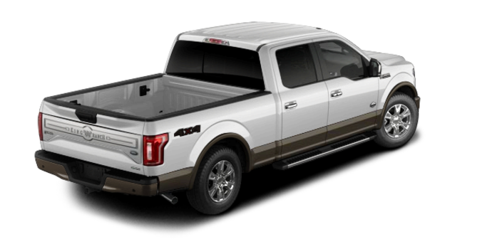 2016 Ford F-150 KING RANCH | Photo 5 | White Platinum/Caribou
