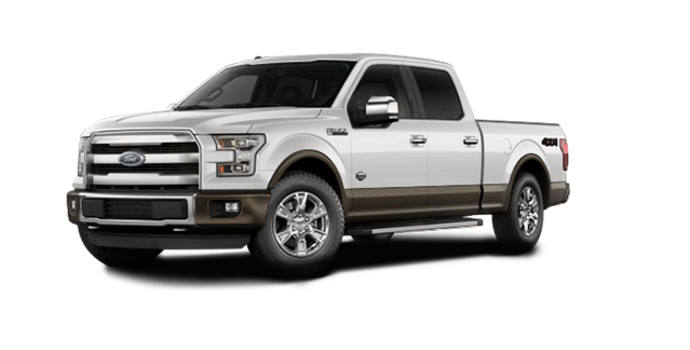 2016 Ford F-150 KING RANCH | Photo 6 | White Platinum/Caribou