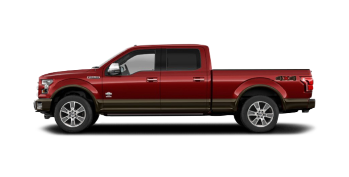 2016 Ford F-150 KING RANCH | Photo 4 | Ruby Red/Caribou