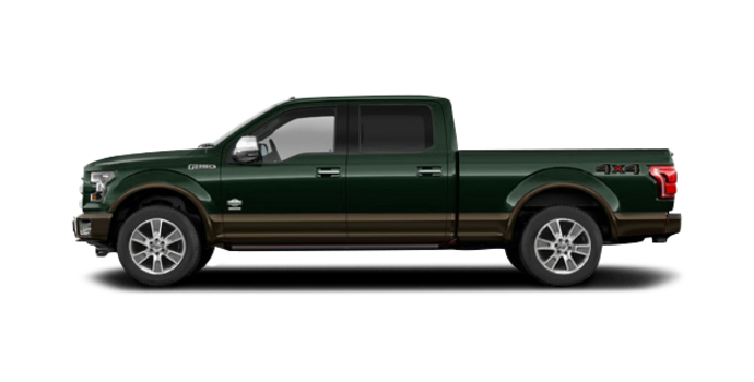 2016 Ford F-150 KING RANCH | Photo 4 | Green Gem/Caribou