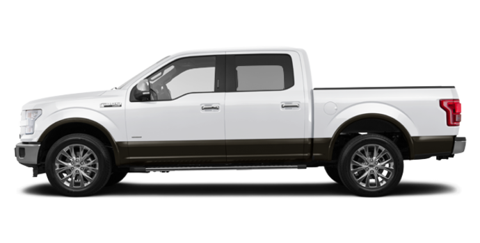 2016 Ford F-150 LARIAT | Photo 4 | White Platinum/Caribou