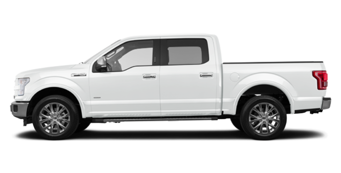 2016 Ford F-150 LARIAT | Photo 4 | Oxford White