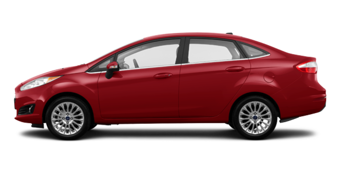 2016 Ford Fiesta TITANIUM SEDAN | Photo 4 | Ruby Red