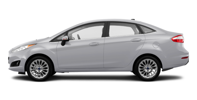 2016 Ford Fiesta TITANIUM SEDAN | Photo 4 | Ingot Silver