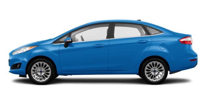 2016 Ford Fiesta TITANIUM SEDAN | Photo 4 | Blue Candy