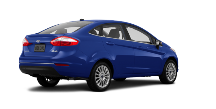 2016 Ford Fiesta TITANIUM SEDAN | Photo 5 | Kona Blue