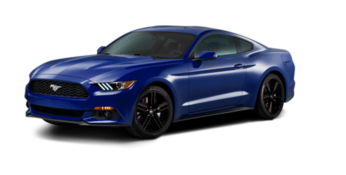 2016 Ford Mustang EcoBoost Premium | Photo 6 | Deep Impact Blue