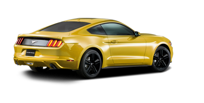 2016 Ford Mustang EcoBoost | Photo 5 | Triple Yellow