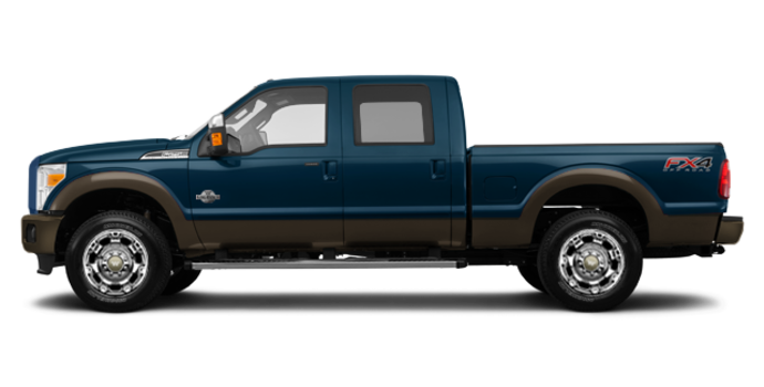 2016 Ford Super Duty F-250 KING RANCH | Photo 4 | Blue Jeans / Caribou