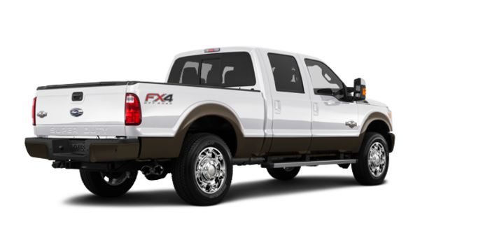 2016 Ford Super Duty F-250 KING RANCH | Photo 5 | White Platinum / Caribou