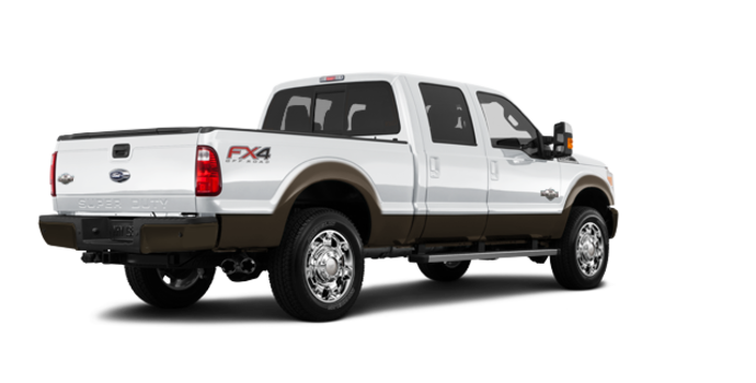 2016 Ford Super Duty F-250 KING RANCH | Photo 5 | Oxford White / Caribou