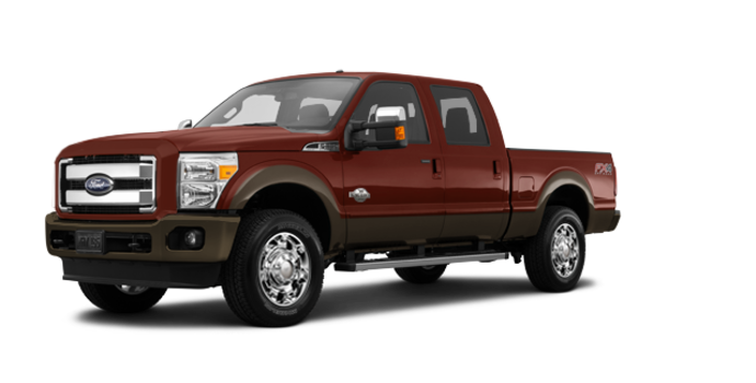 2016 Ford Super Duty F-250 KING RANCH | Photo 6 | Bronze Fire / Caribou