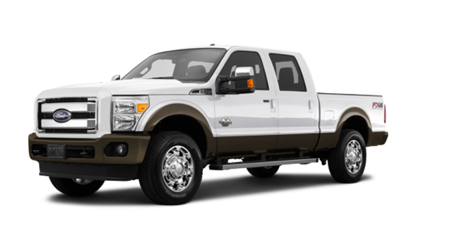 2016 Ford Super Duty F-250 KING RANCH | Photo 6 | White Platinum / Caribou