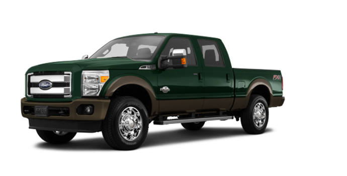 2016 Ford Super Duty F-250 KING RANCH | Photo 6 | Green Gem / Caribou