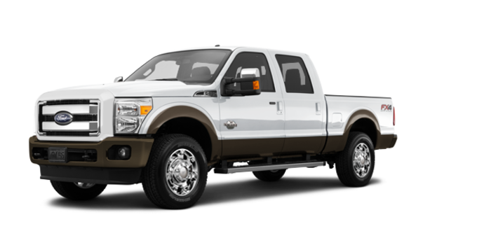 2016 Ford Super Duty F-250 KING RANCH | Photo 6 | Oxford White / Caribou