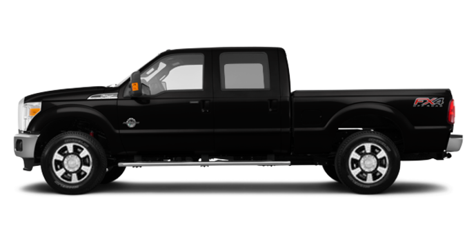 2016 Ford Super Duty F-250 LARIAT | Photo 4 | Shadow Black