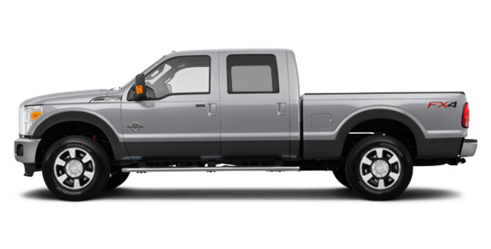 2016 Ford Super Duty F-250 LARIAT | Photo 4 | Ingot Silver / Magnetic