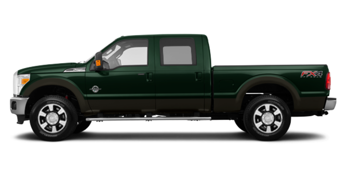 2016 Ford Super Duty F-250 LARIAT | Photo 4 | Green Gem / Caribou