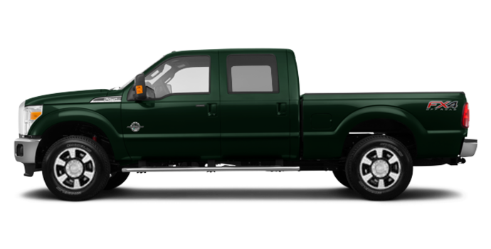 2016 Ford Super Duty F-250 LARIAT | Photo 4 | Green Gem