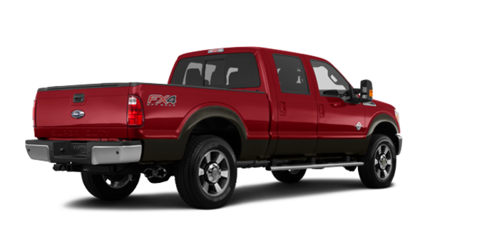 2016 Ford Super Duty F-250 LARIAT | Photo 5 | Ruby Red / Caribou