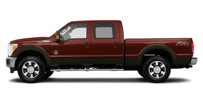 2016 Ford Super Duty F-350 LARIAT | Photo 4 | Bronze Fire / Caribou