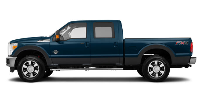 2016 Ford Super Duty F-350 LARIAT | Photo 4 | Blue Jeans / Magnetic