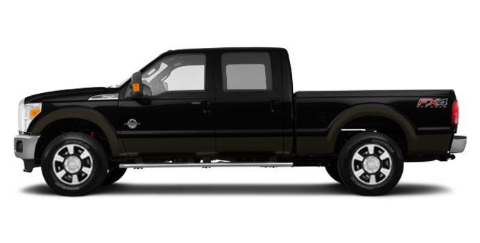 2016 Ford Super Duty F-350 LARIAT | Photo 4 | Shadow Black / Caribou