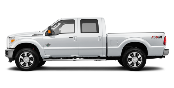 2016 Ford Super Duty F-350 LARIAT | Photo 4 | Oxford White