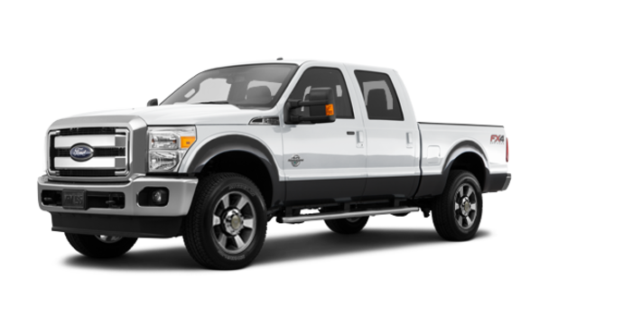 2016 Ford Super Duty F-350 LARIAT | Photo 6 | Oxford White / Magnetic