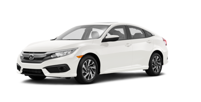 2016 Honda Civic Sedan EX-SENSING | Photo 6 | White Orchard Pearl