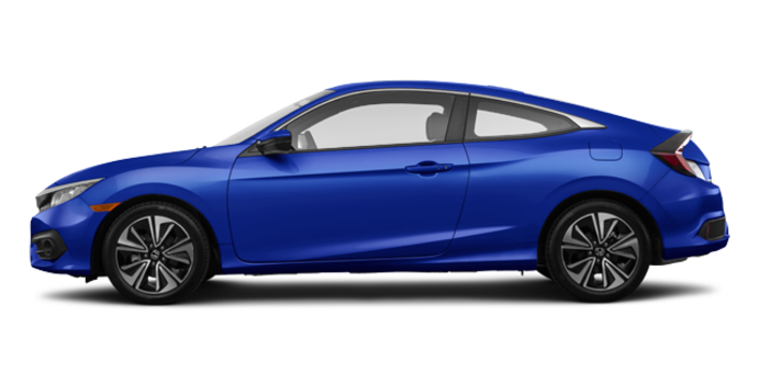 2016 Honda Civic Coupe EX-T | Photo 4 | Aegean Blue Metallic