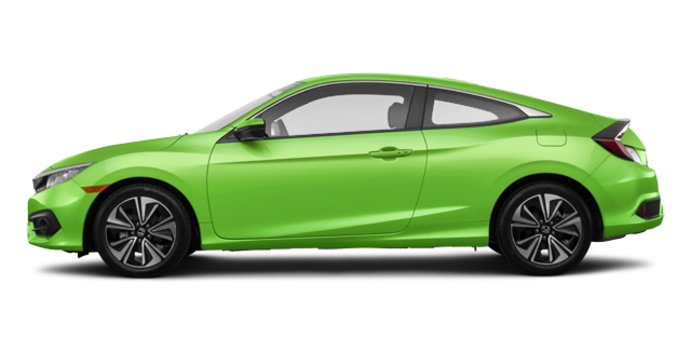 2016 Honda Civic Coupe EX-T | Photo 4 | Energy Green Pearl