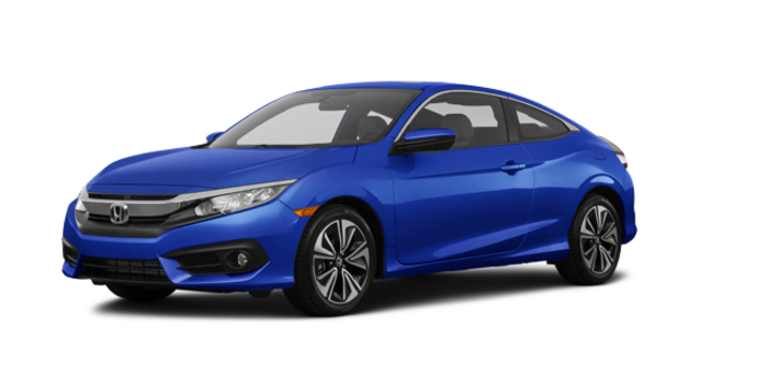 2016 Honda Civic Coupe EX-T | Photo 6 | Aegean Blue Metallic
