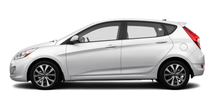 2016 Hyundai Accent 5 Doors GLS | Photo 4 | Century White