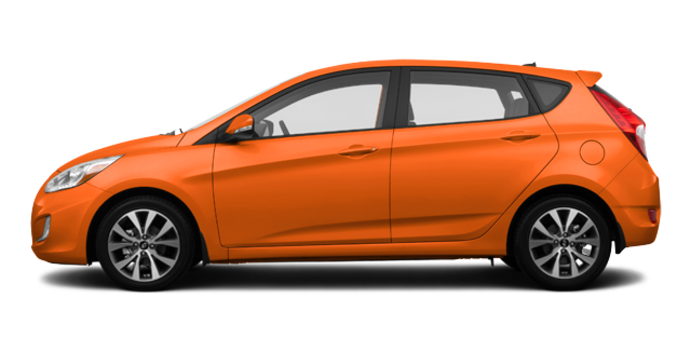2016 Hyundai Accent 5 Doors GLS | Photo 4 | Vitamin C