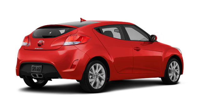 2016 Hyundai Veloster BASE | Photo 5 | Boston Red