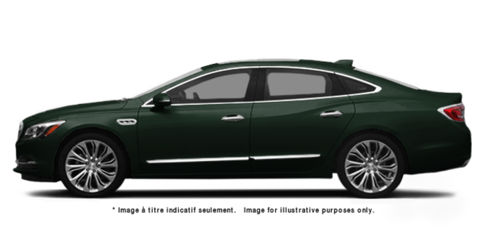 2017 Buick LaCrosse BASE | Photo 4 | Dark Forest Green Metallic