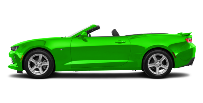2017 Chevrolet Camaro convertible 1LT | Photo 4 | Krypton Green