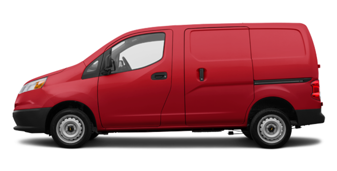 2017 Chevrolet City Express 1LS | Photo 4 | Furnace Red