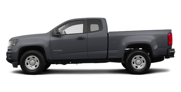 2017 Chevrolet Colorado BASE | Photo 4 | Graphite Metallic