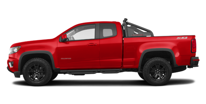 2017 Chevrolet Colorado Z71 | Photo 4 | Red Hot