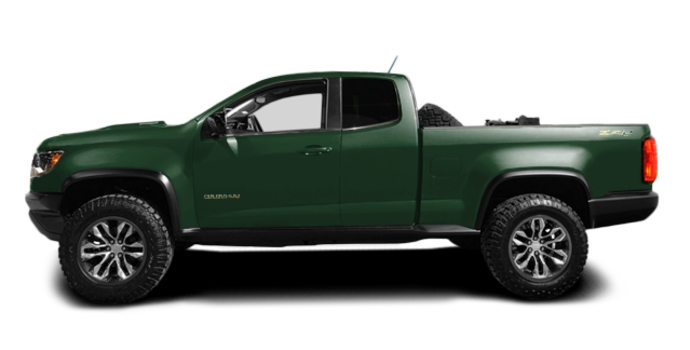 2017 Chevrolet Colorado ZR2 | Photo 4 | Deepwood Green Metallic