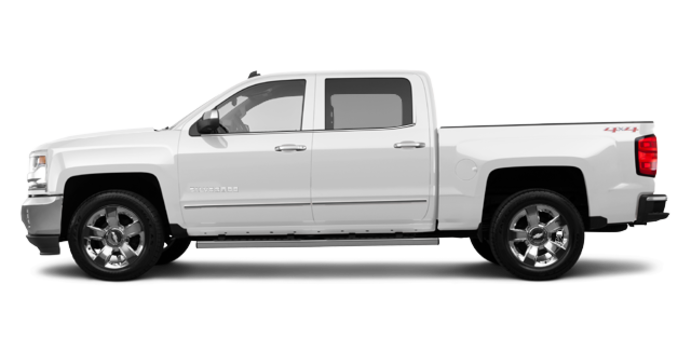 2017 Chevrolet Silverado 1500 LTZ | Photo 4 | Summit White