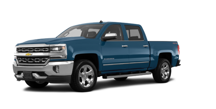 2017 Chevrolet Silverado 1500 LTZ | Photo 6 | Deep Ocean Blue Metallic