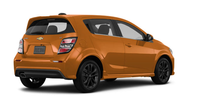 2017 Chevrolet Sonic Hatchback PREMIER | Photo 5 | Orange Burst Metallic