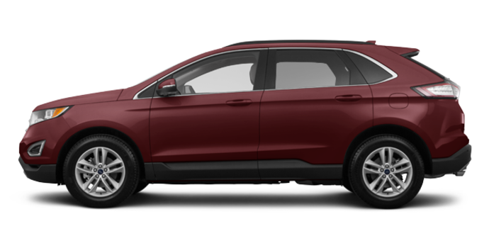 2017 Ford Edge SEL | Photo 4 | Burgundy Velvet Metallic