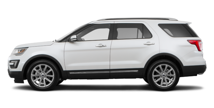 2017 Ford Explorer LIMITED | Photo 4 | White Platinum